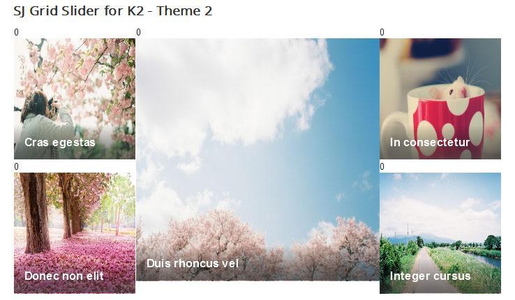 02 نمایش پربازدیدترین  ها در k2 با SJ Most Viewed for K2 - گلچین آنلاین