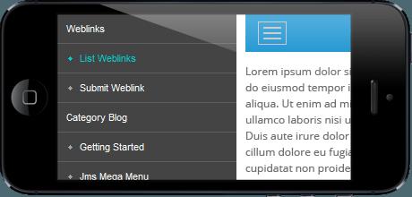 1387447629 پنل گوشه ای زیبای سایت با jf side panel فارسی - گلچین آنلاین