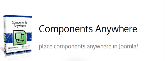 افزونه component anywhere