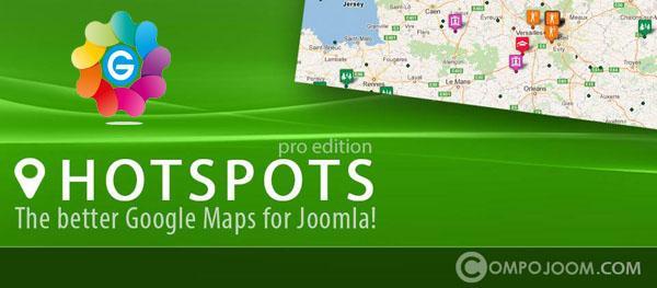 54907epx16 نمایش مکان ها و اطلاعات آنها بر روی نقشه در جوملا  My Maps location  - گلچین آنلاین