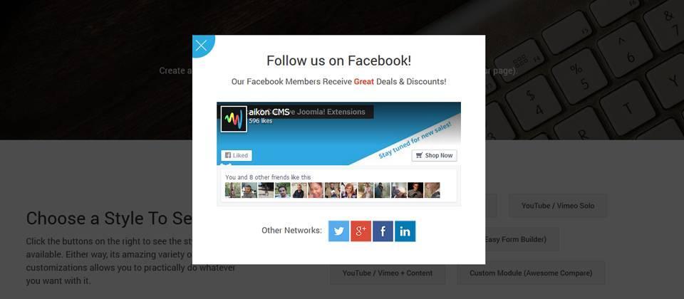 9a80f0_res60px420px16 ماژول پاپ آپ و اطلاع رسانی Engage Box فارسی - گلچین آنلاین