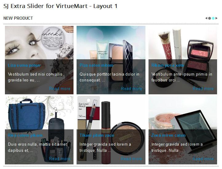 SJ Extra Slider For VirtueMart