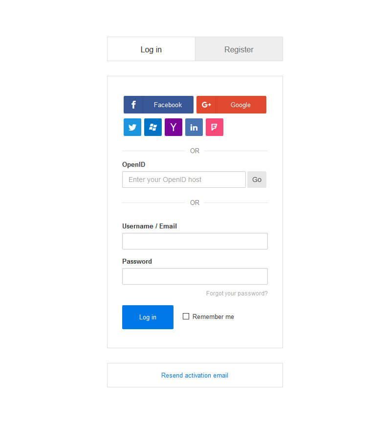 au66 گلچین آنلاین - ورود و ثبت نام پیشرفته جوملا Improved AJAX Login and Register