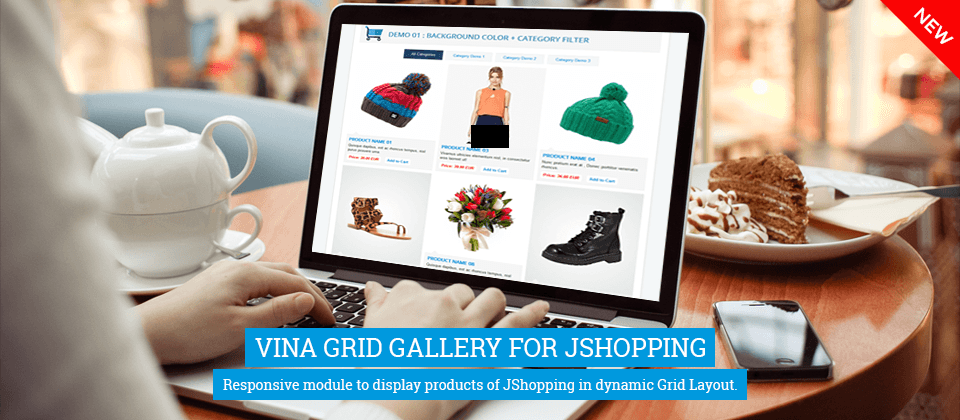 ina_Grid_Gallery_for_JShopping جومشاپینگ - گلچین آنلاین