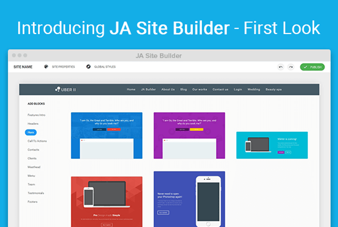 Ja Site Builder(1)
