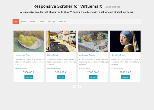 Minitek Responsive Scroller For Virtuemart Download Joomla Extension