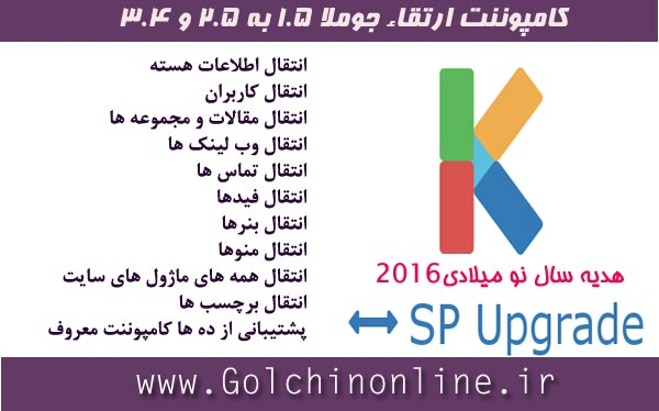 Sp Upgrade Joomla3