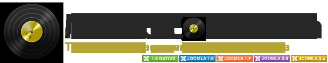 455 گالری و پخش کننده mp3 در جوملا Shape5 MP3 Gallery - گلچین آنلاین