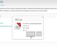 thumb_1257_2b946a83bd4cfdf8a7d34a470ef1cc31 گلچین آنلاین - کامپوننت مدیریت فایل و دانلود Dropfiles جوملا