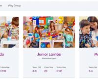 thumb_1437_a8d208e030ef50de85cf1632abf65537 گلچین آنلاین - سیستم مدیریت مدارس جوملا SP Kindergarten