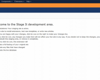thumb_1482_61b4a5c69075e8f6a31af7bdc348329f گلچین آنلاین - ایجاد تغییرات در جوملا بدون نگرانی با StageIt