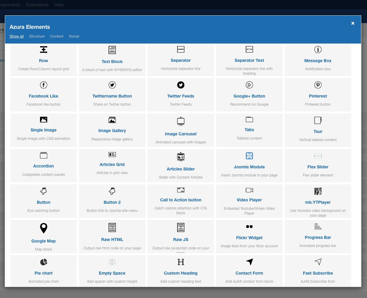 3a2f2f6176e67 صفحه ساز پیشرفته جوملا Quix Pagebuilder  - گلچین آنلاین
