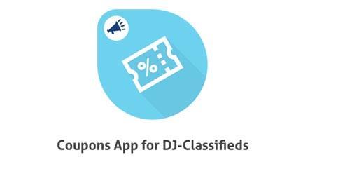 Coupons_App_for_DJ-Classifieds_ سیستم مدیریت آگهی و تبلیغات جوملا Ads manager فارسی - گلچین آنلاین