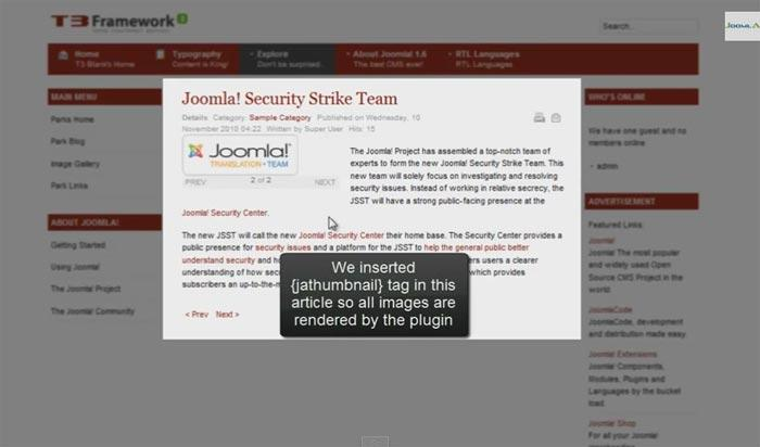 JA-Thumbnail1 افزونه مدیریت تصاویر جوملا با امکان آپلود تصاویر سایت در هاست دیگر  - گلچین آنلاین