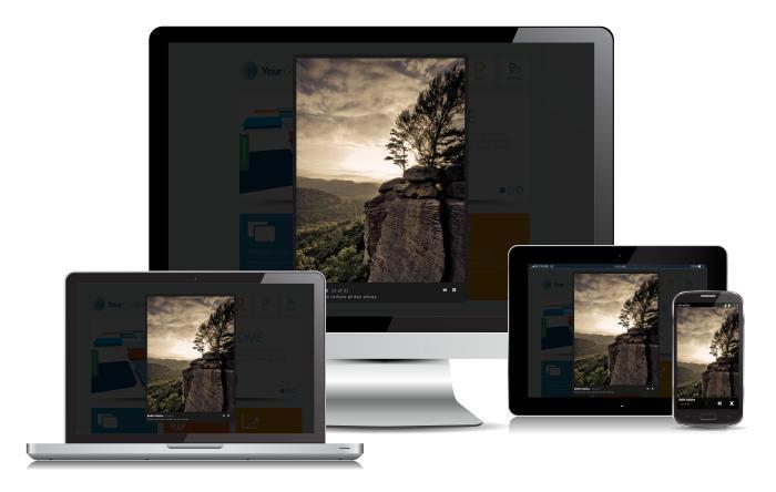Responsive_Design_Mediabox_CK_700 کامپوننت ساخت گالری تصاویر جوملا RSMediaGallery   - گلچین آنلاین