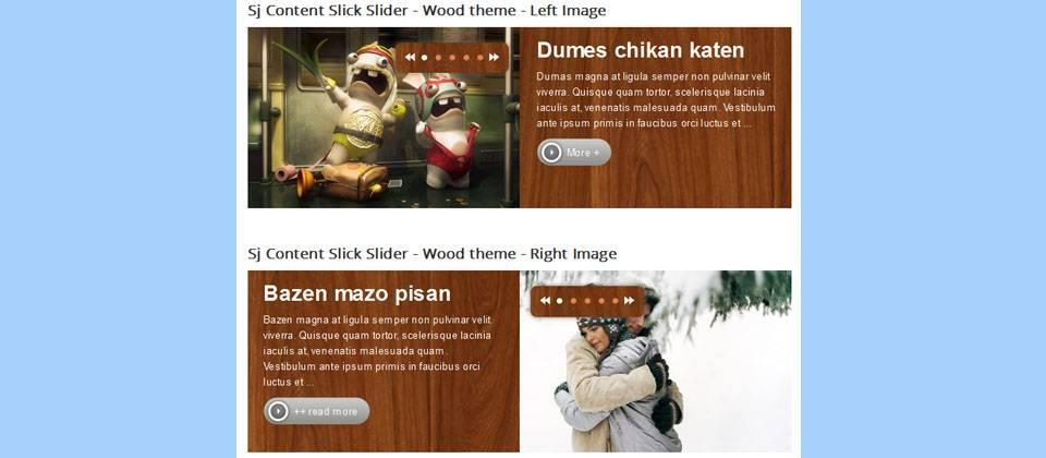 SJ_Content_Slick_Slider_ افزونه مدیریت تصاویر جوملا با امکان آپلود تصاویر سایت در هاست دیگر  - گلچین آنلاین