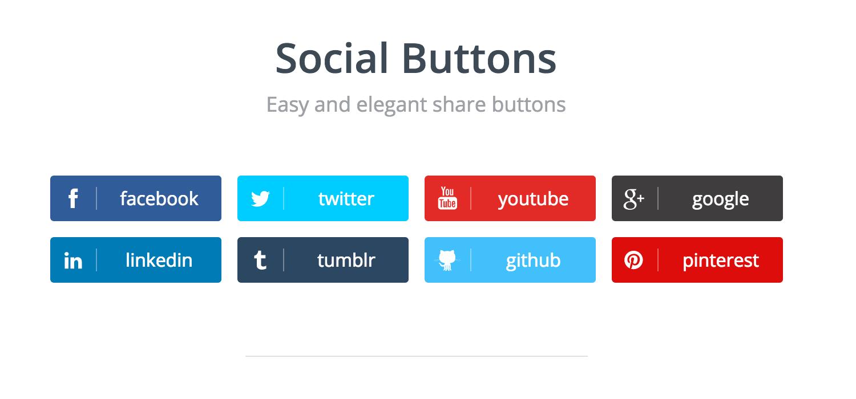 Social-Buttons-v2 سبد خرید ای جکسی جومشاپینگ joomshopping Ajax Cart - گلچین آنلاین