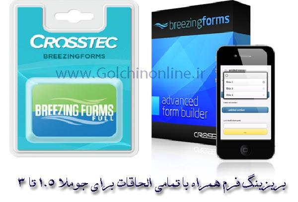 breezingforms_edx-2 فرم ساز فارسی و شمسی جوملا Balbooa Forms PRO  - گلچین آنلاین