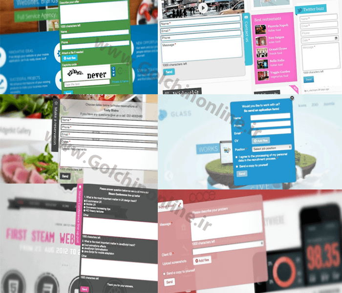 cantactforms_joomla بروز رسانی منو ساز حرفه ای sw menu pro 1.0.7 - گلچین آنلاین - Results from #28