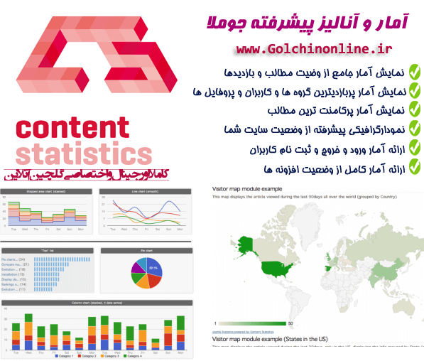 contentstatik_joomla گوگل آنالیز در جوملا با Asynchronous Google Analytics - گلچین آنلاین