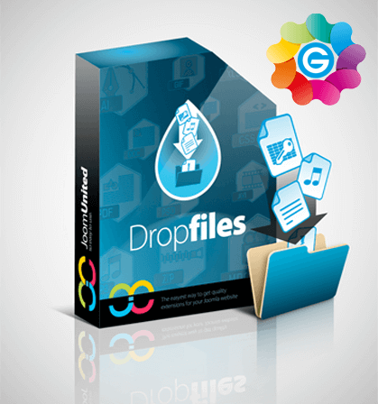 dropfiles کامپوننت اضافه کردن فایل به مطالب جوملا  - گلچین آنلاین