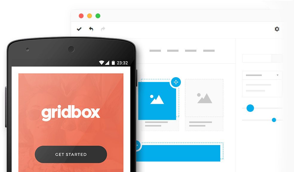 gridbox-intro صفحه ساز پیشرفته جوملا Quix Pagebuilder  - گلچین آنلاین