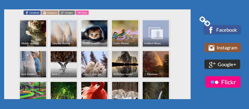 juxsocialgallery افزونه مدیریت تصاویر جوملا با امکان آپلود تصاویر سایت در هاست دیگر  - گلچین آنلاین