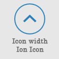 Scroll2top Ion Icon