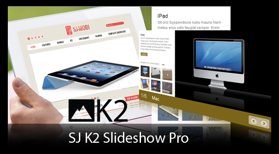 sjk2slideshowpro نمایش موزائیکی مطالب با SJ Grid Slider For K2 - گلچین آنلاین