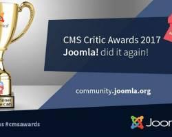 جوملا بهترین CMS سال 2017 از نگاه cmscritic شد